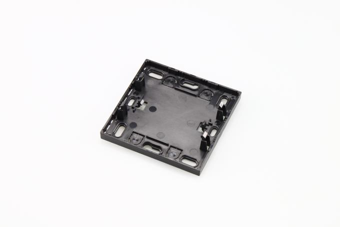 Black Shell OEM Plastic Injection Products , Single Cavity Mould
