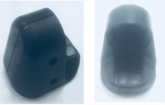 Base for Rear mirror for automobile , Back holder , high precision , Material PC + ABS , Color Black