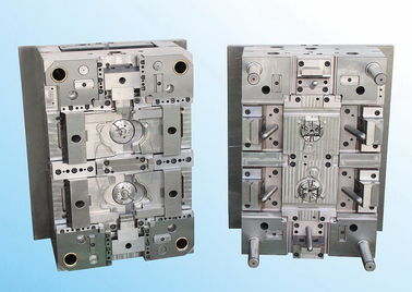 China YUDO Hot Runner 2 cavity plastic injection mould HASCO standard supplier
