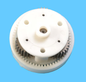 China Plastic injection mold with PA66 material, the parts is gear motor supplier