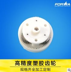 China Plastic gears custom made reduction gearbox POM material use for home appliance electronics supplier