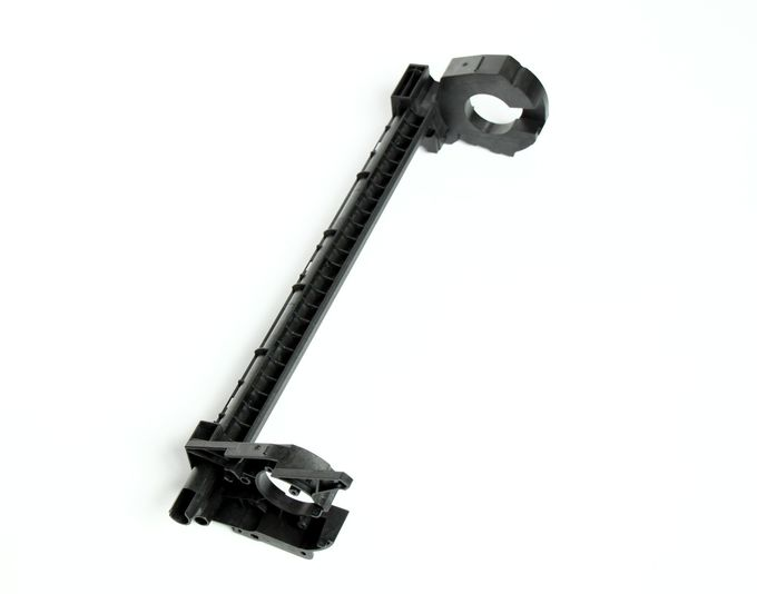 Customized  Office Printer Moulding Plastic Parts In ABS Black