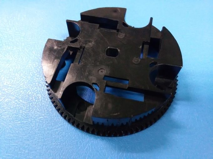 ABS Material Automotive Injection Mold With Gear Shape Plastic Injection Parts