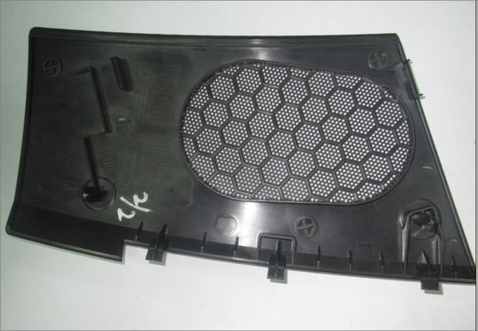 Automotive Interior Parts Injection Mold Parts , Auto Sound Grill Door Plate